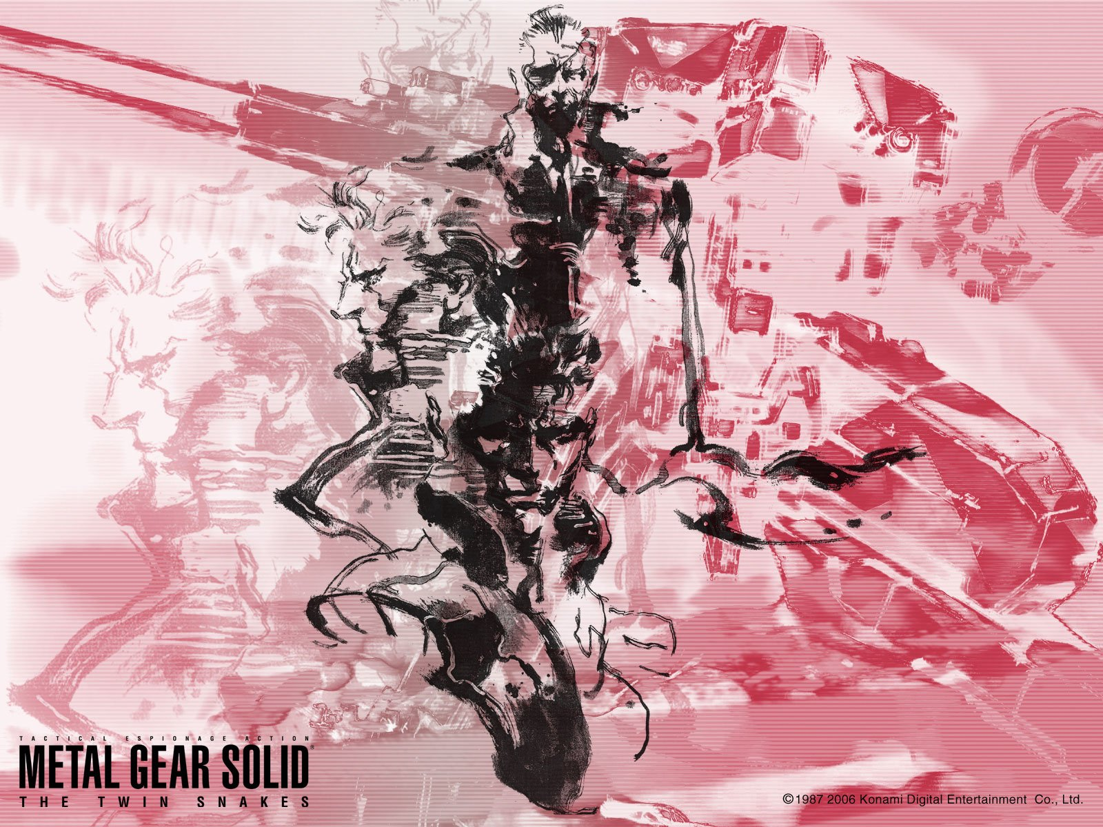 3 Metal Gear Solid The Twin Snakes Hd Wallpapers Background