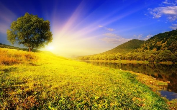 Earth Sunbeam Manipulation CGI Digital Art Trippy HD Wallpaper   Background Image