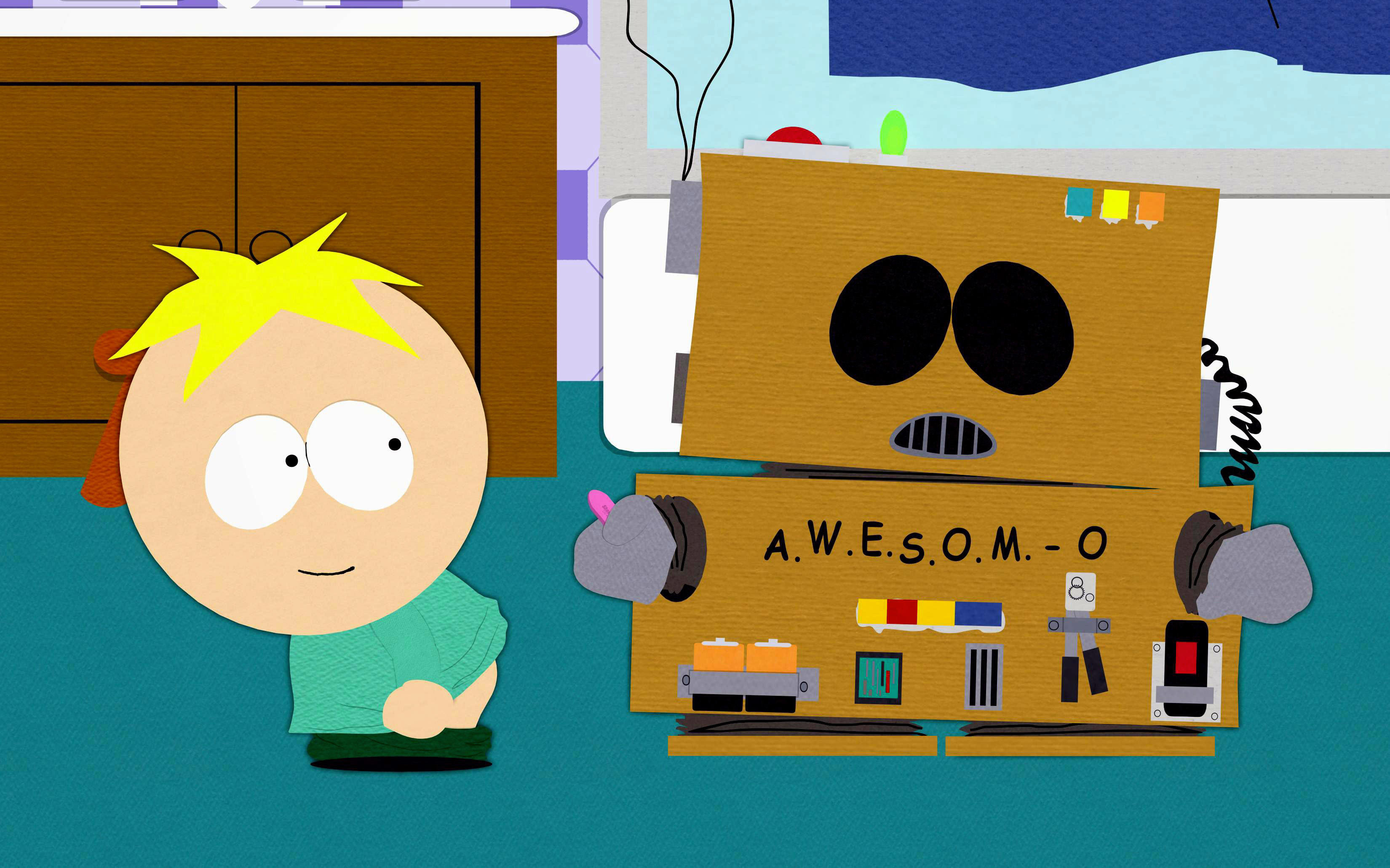 Butters TV Series Entertainment Background Wallpapers on
