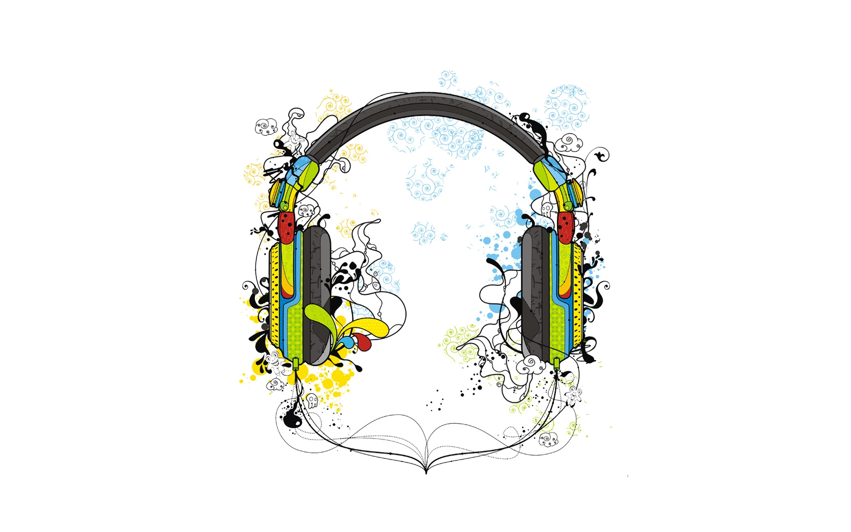 Music - Headphones  - Bmx Street Wallpaper