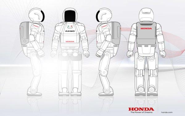 Produkte Honda Asimo Honda Roboter HD Wallpaper | Hintergrund