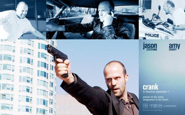 Movie Crank Jason Statham HD Wallpaper | Background Image