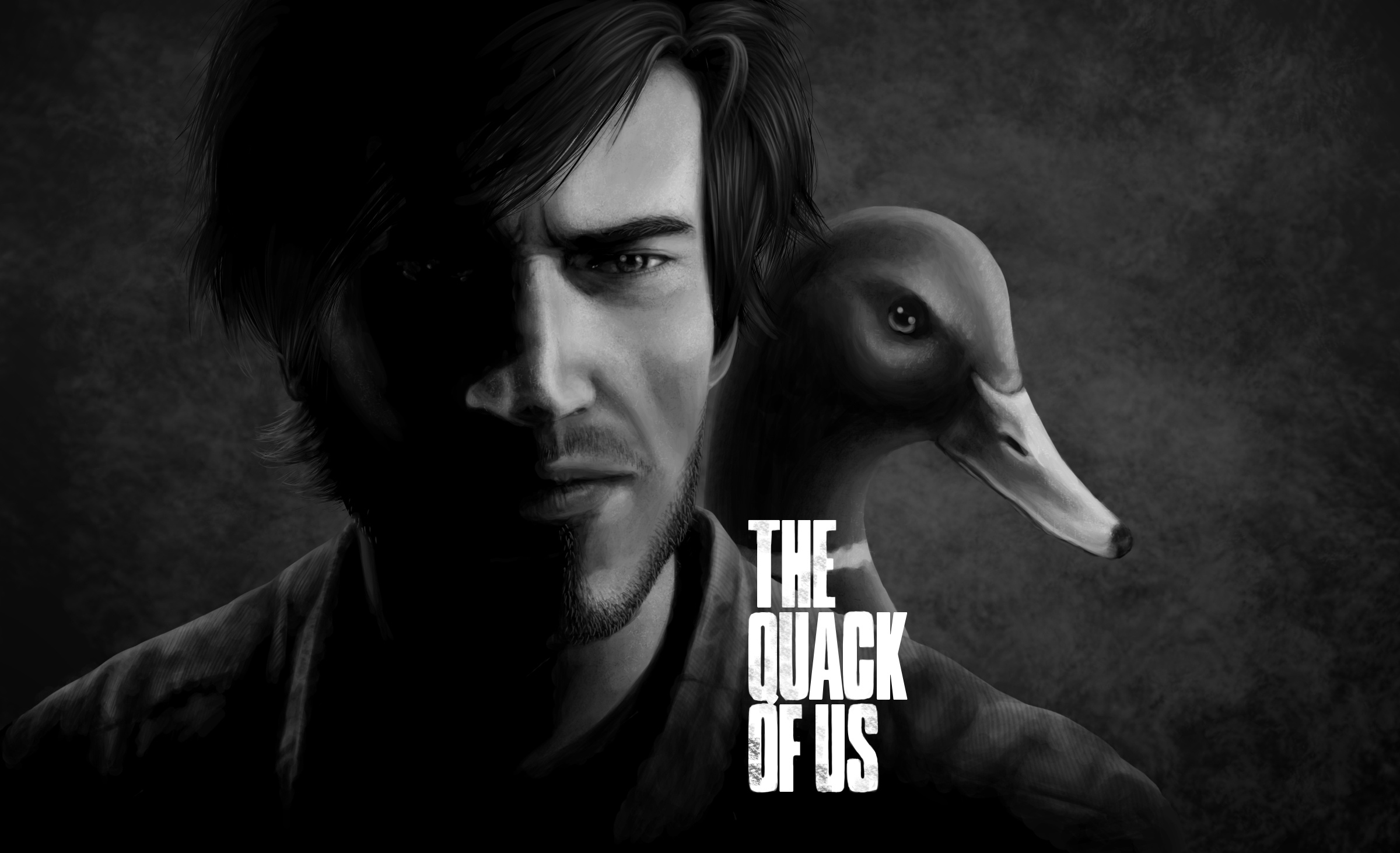 The Quack Of Us Full HD Wallpaper And Background Image