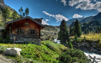 Man Made - Cabin Wallpapers and Backgrounds ID : 434878