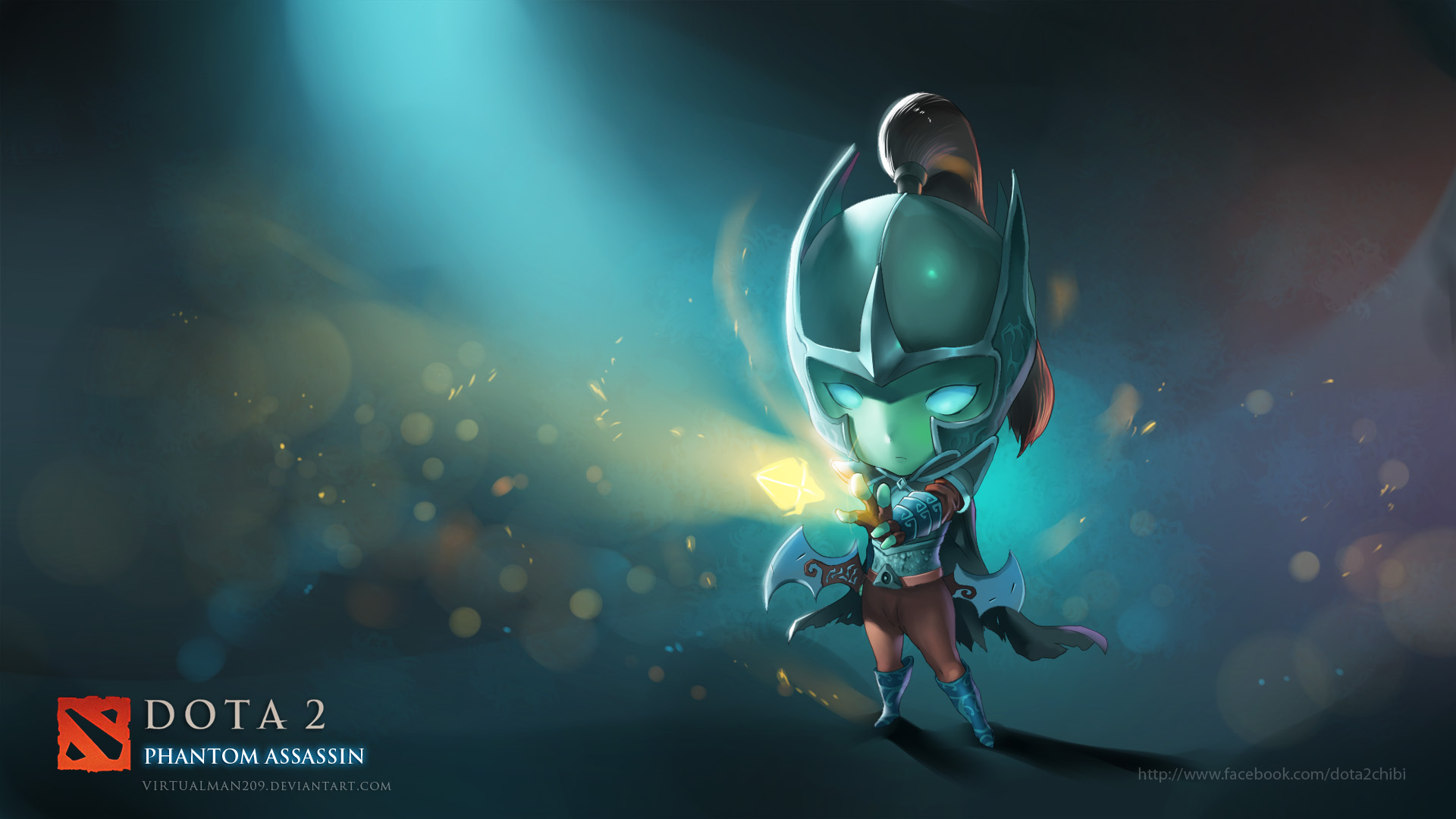 Dota 2 Wallpaper Phantom Assassin Arcana