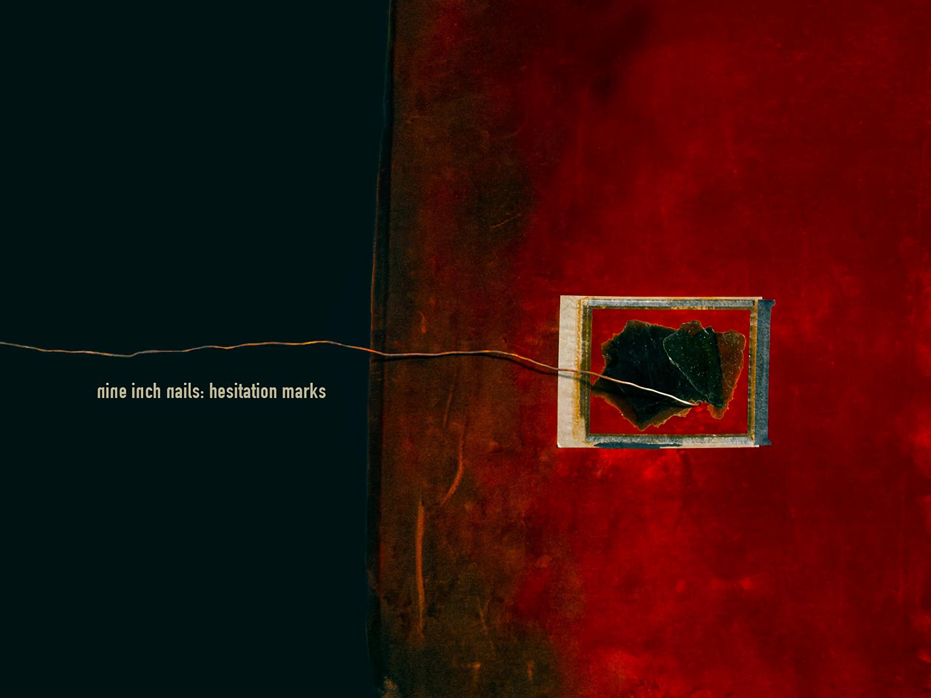 Hesitation Marks Wallpaper Nine Inch Nails: Hesit...