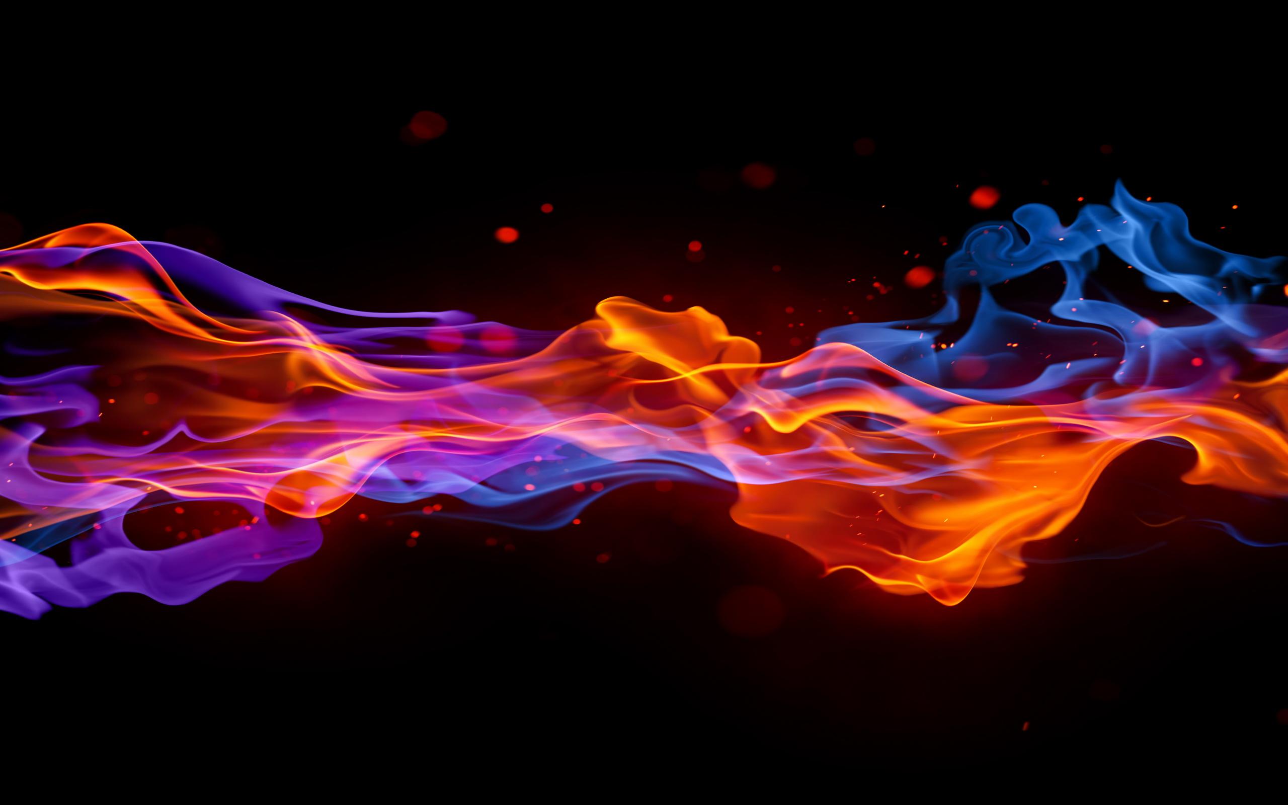 Огонь женщина фото