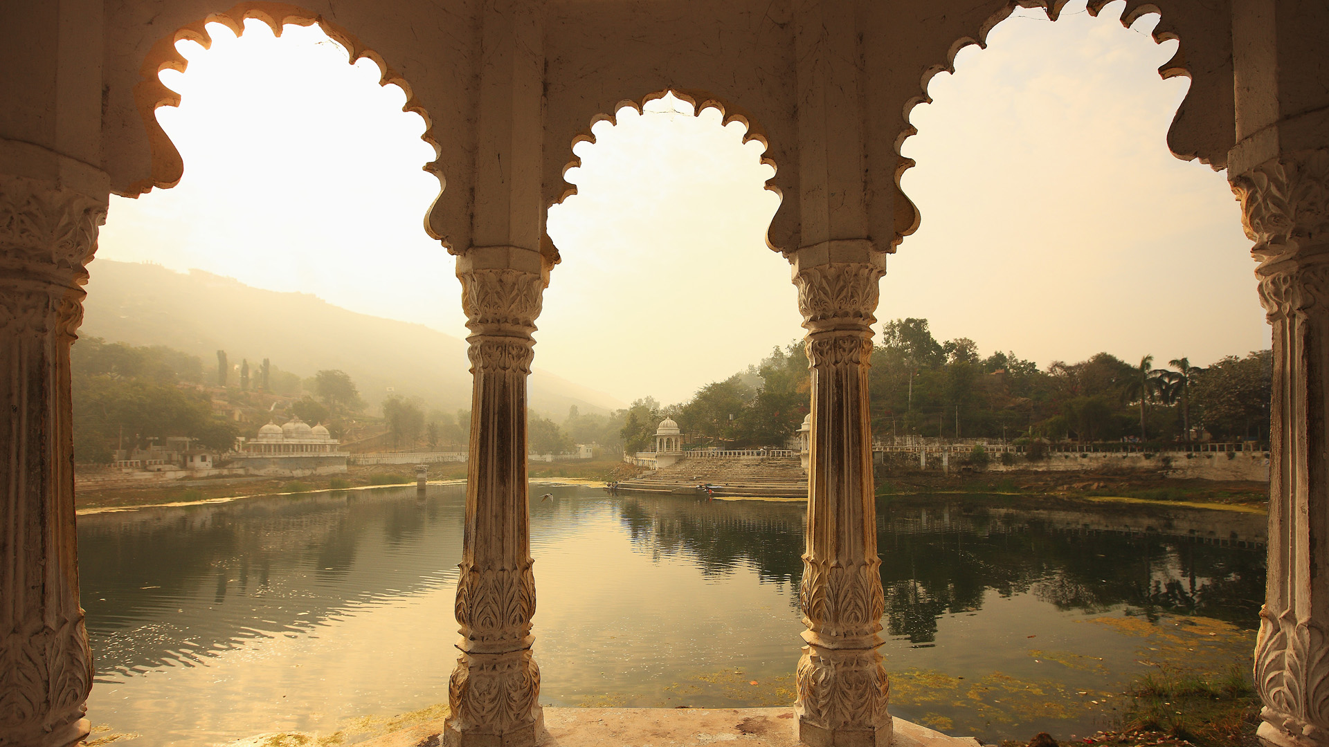 Udaipur india full hd wallpaper and background for Indian home garden design