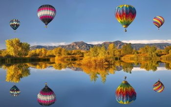 Fahrzeuge - Hot Air Balloon Wallpapers and Backgrounds ID : 437077