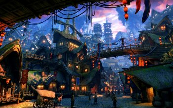 Fantasy - City Wallpapers and Backgrounds ID : 437182