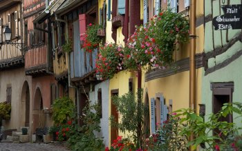 Man Made - Eguisheim Wallpapers and Backgrounds ID : 437735