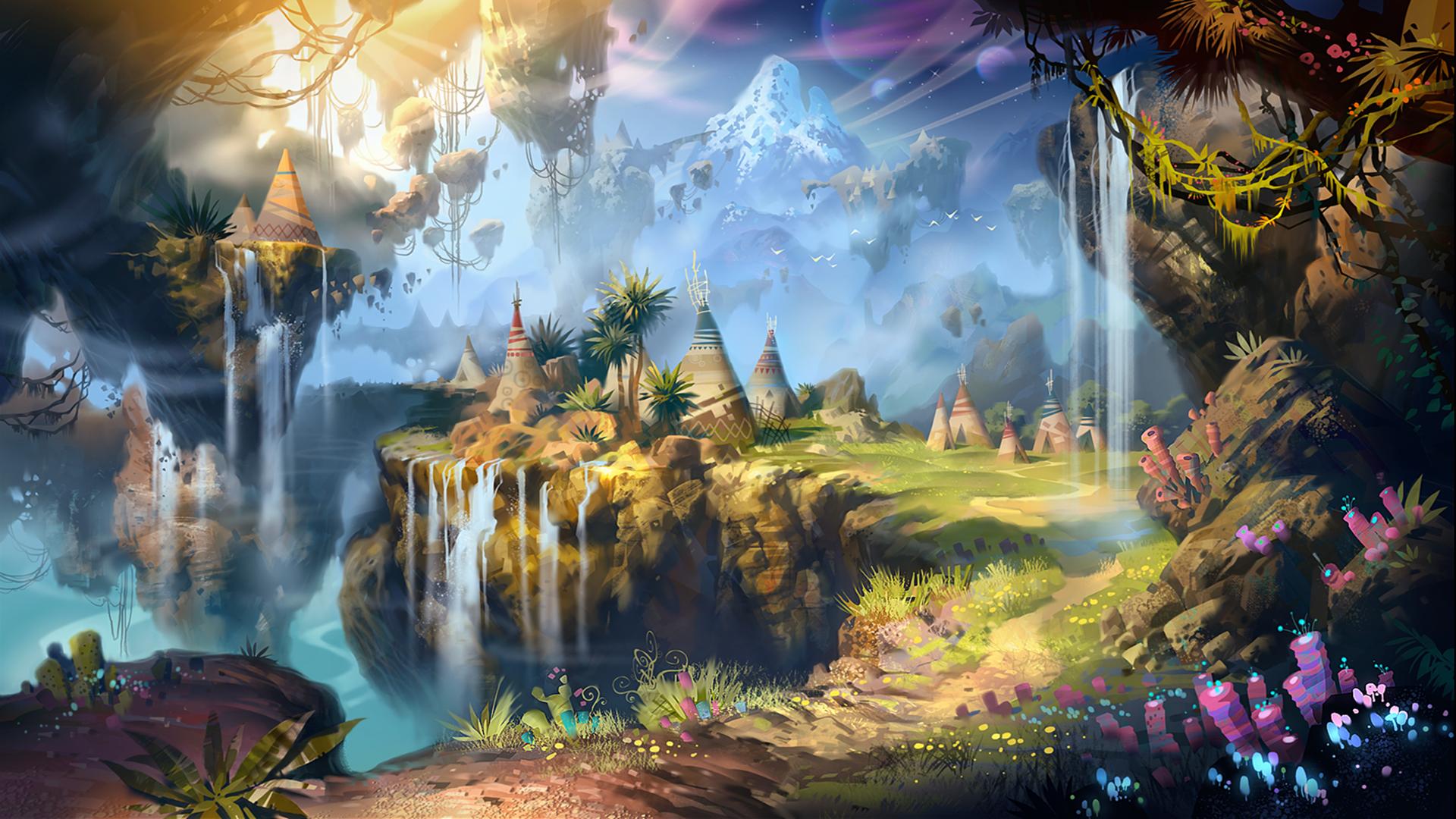 fantasy landscape wallpaper pictures - photo #16