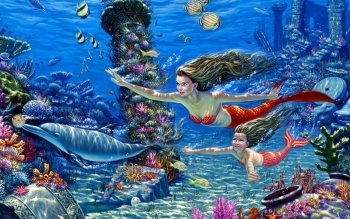 Fantasy - Mermaid Wallpapers and Backgrounds ID : 438695