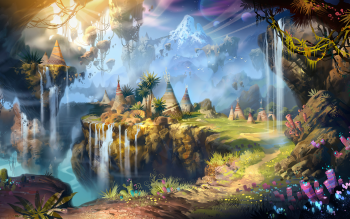 Fantasy - Landscape Wallpapers and Backgrounds ID : 438767
