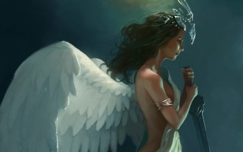 Fantasy - Angel Warrior Wallpapers and Backgrounds ID : 439166