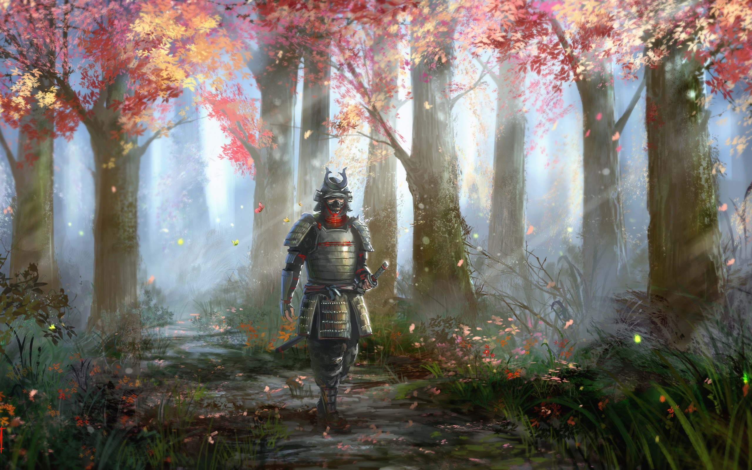 samurai full hd wallpaper and background | 2560x1600 | id:441248