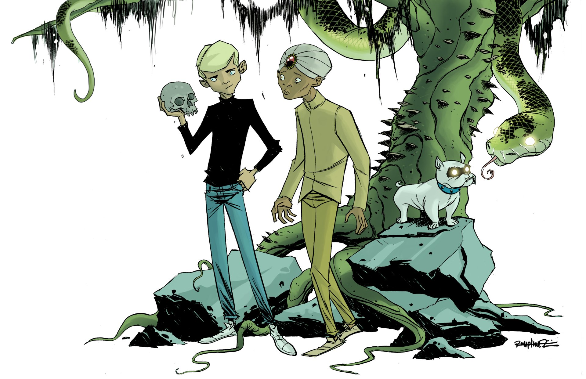 Jonny Quest Full HD Wallpaper And Background Image