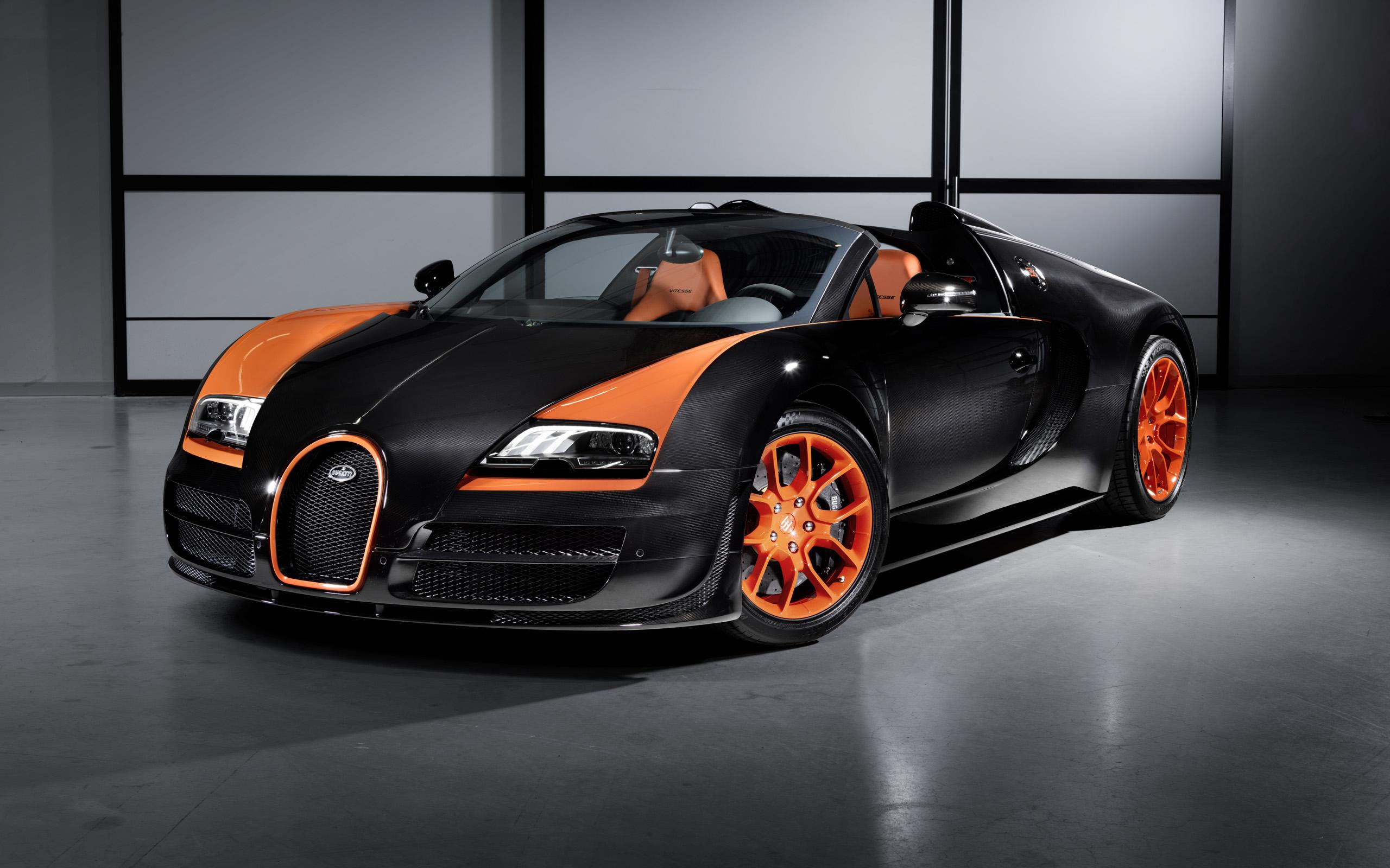 Bugatti Veyron Hd Wallpaper Background Image 2560x1600 Id