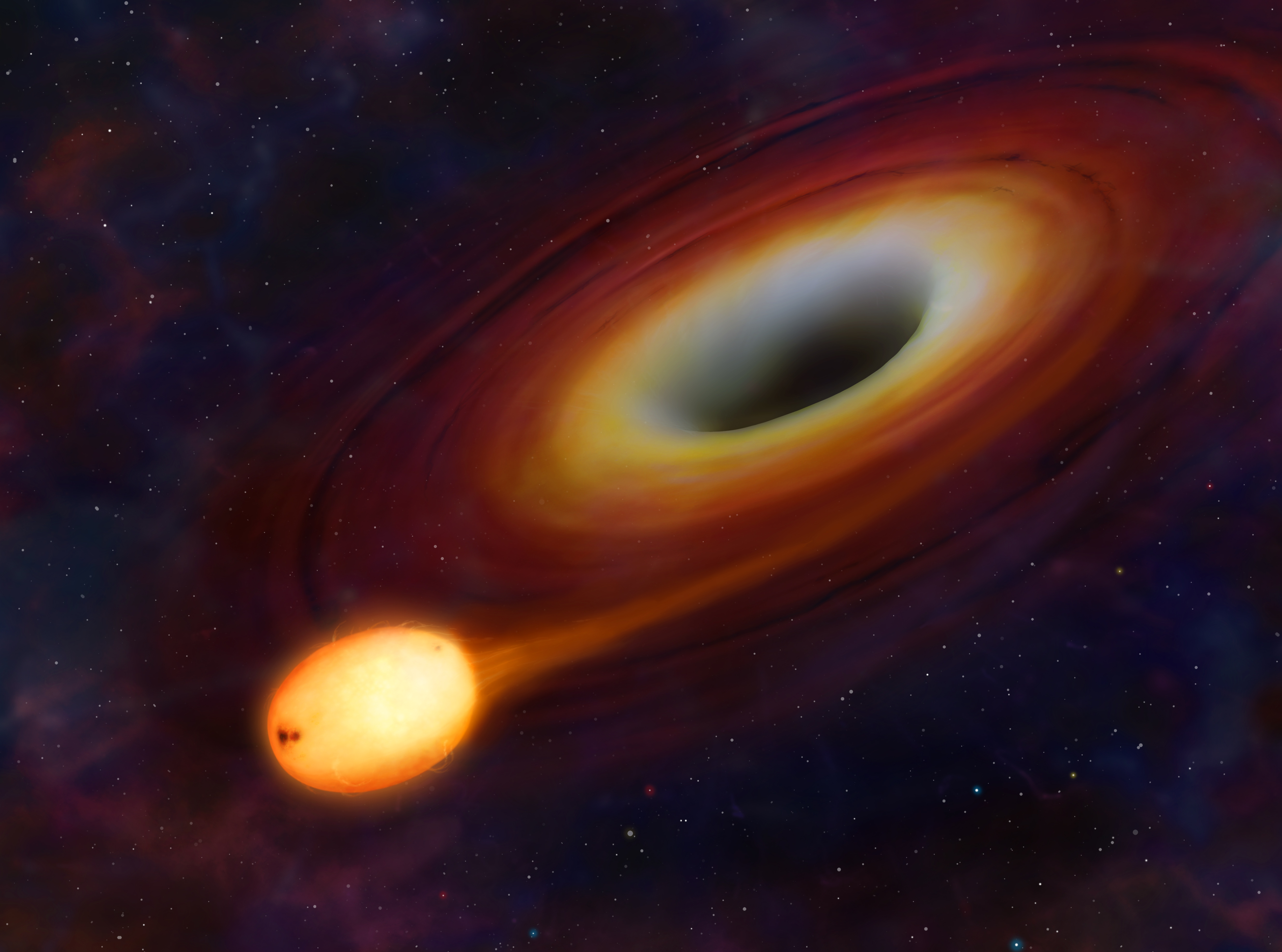 Black Hole 4k Ultra Hd Wallpaper Background Image