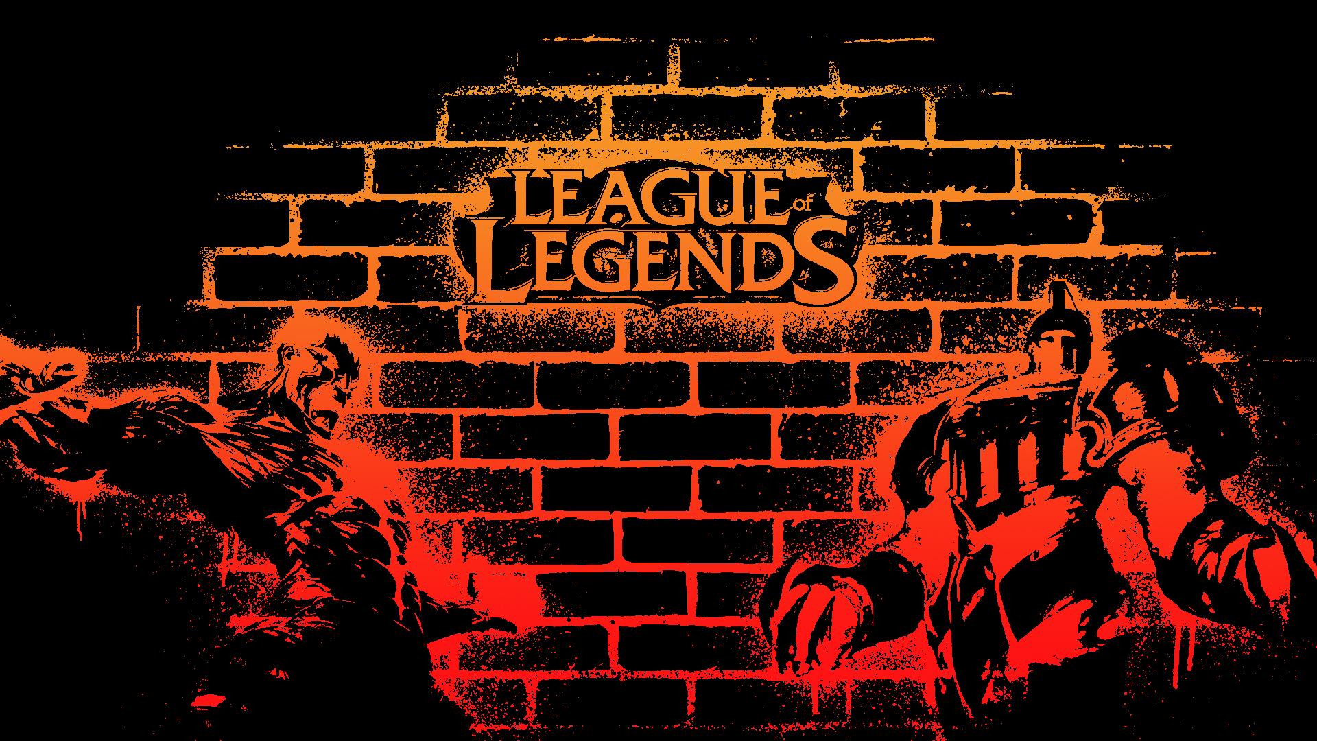 Plano De Fundo Full Hd: League Of Legends Full HD Papel De Parede And Planos De