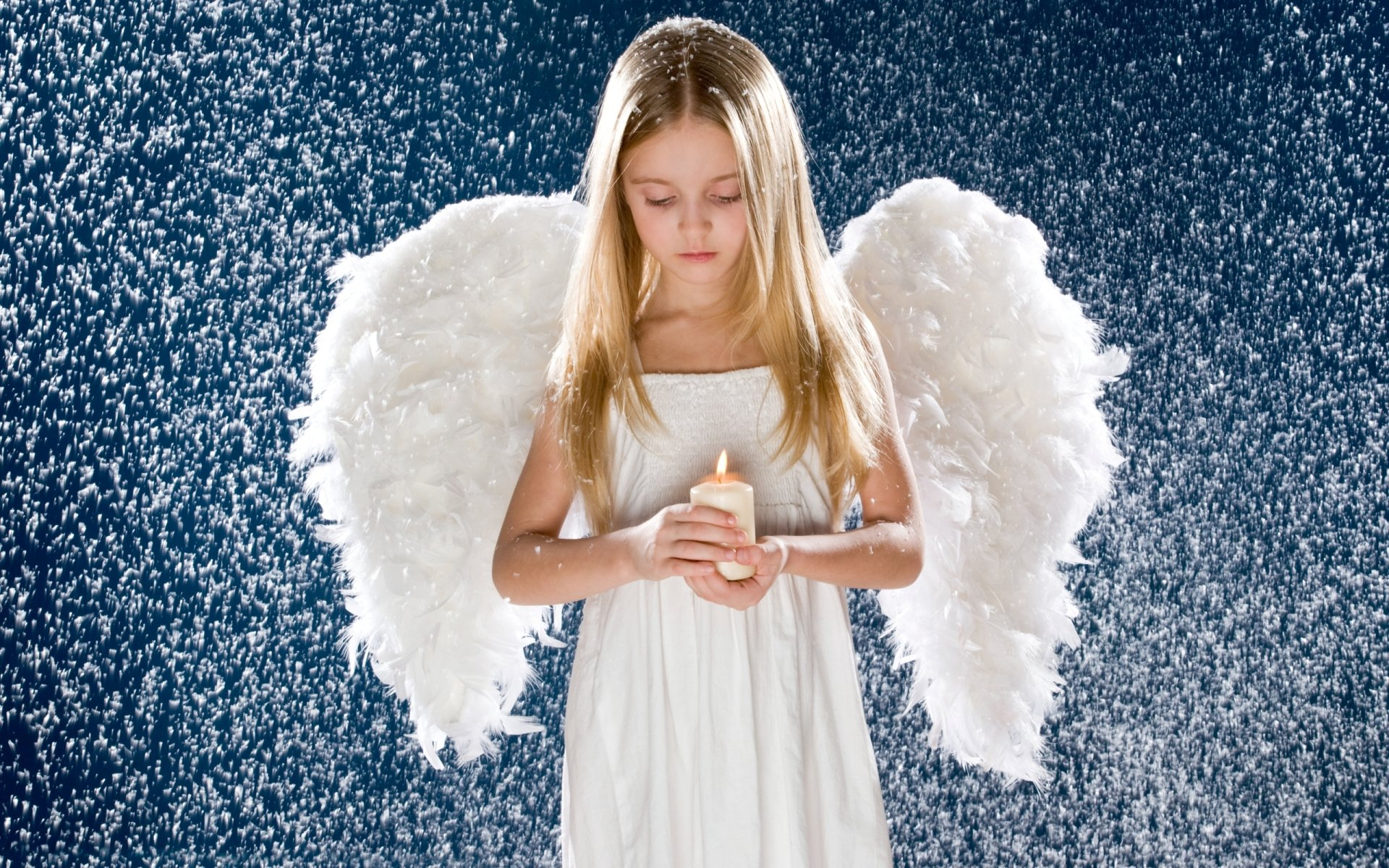 Photography - Child  Girl Angel Wallpaper