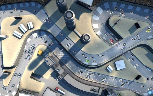 Video Game Pixel Junk Racer Racing HD Wallpaper | Background Image