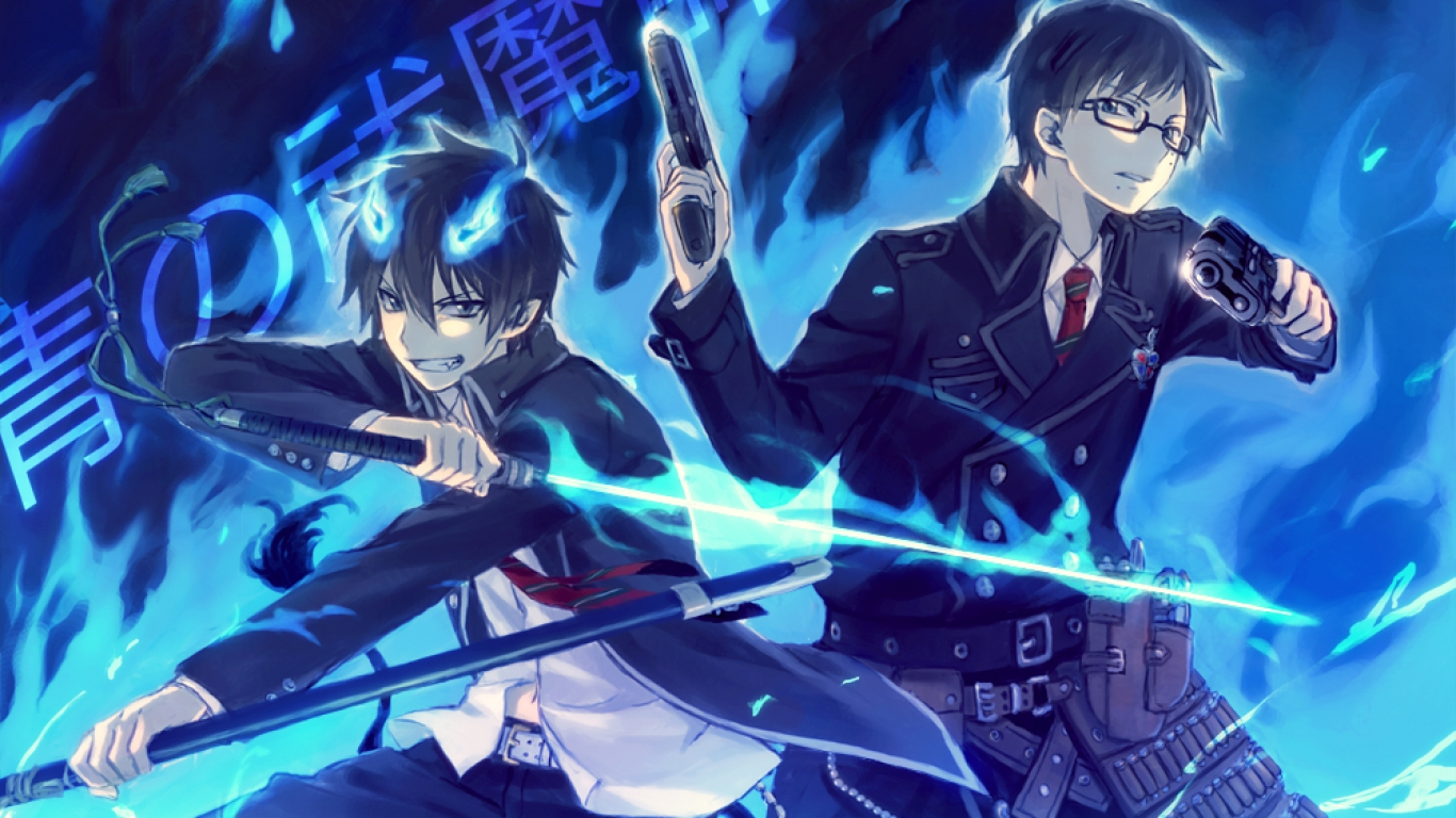 blue exorcist computer wallpapers - photo #7