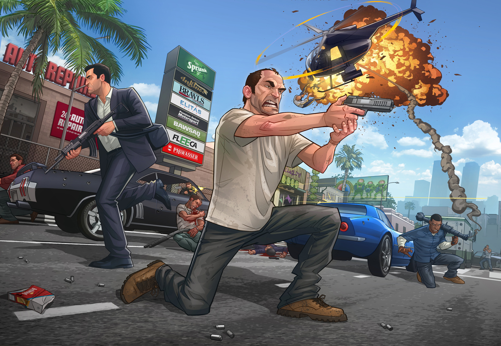 Grand Theft Auto V Wallpaper And Background Image