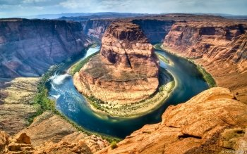 Earth - Grand Canyon Horseshoe Bend Wallpapers and Backgrounds