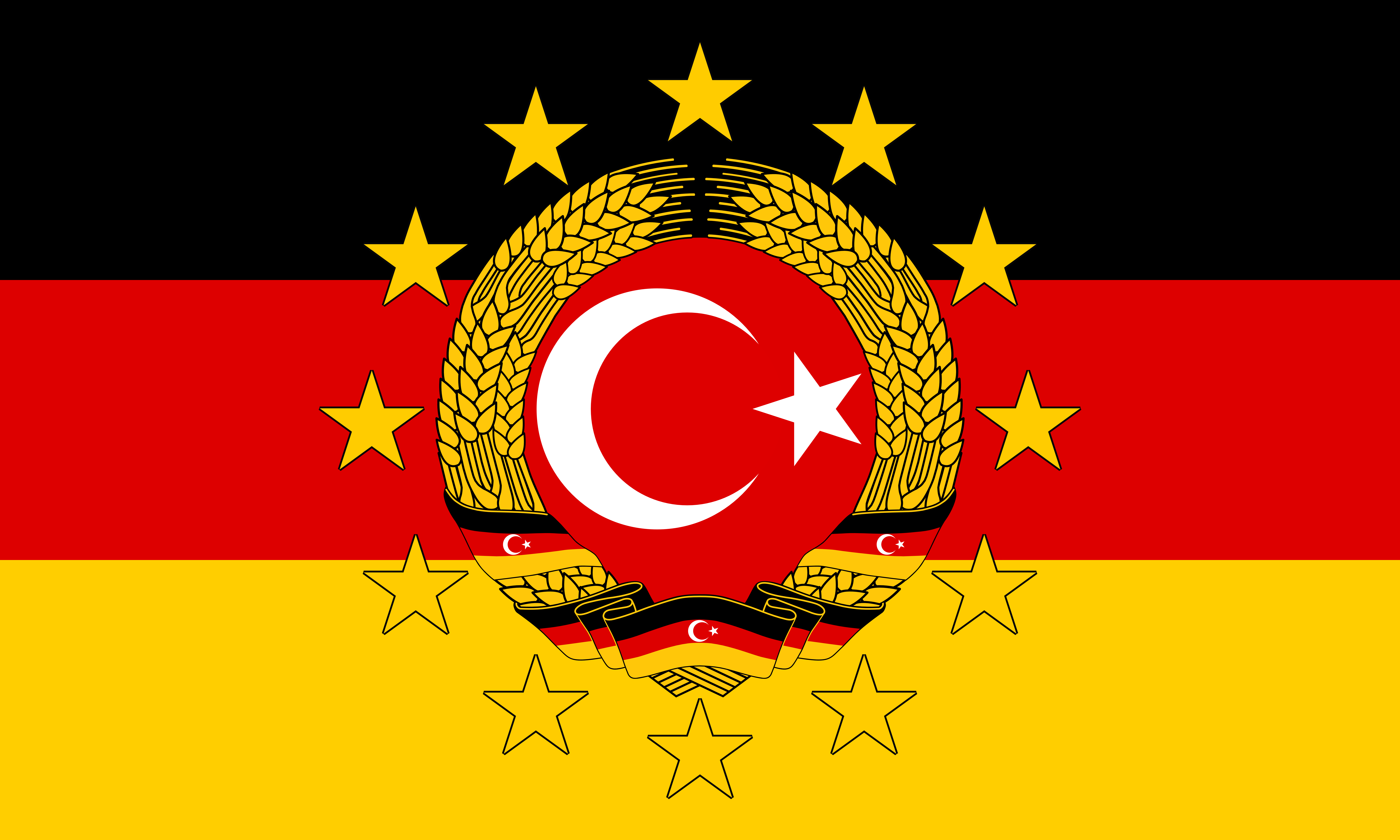 Flag Of Turkey 8k Ultra HD Wallpaper And Background Image