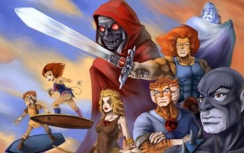 Caricatura - Thundercats Wallpapers and Backgrounds ID : 447989