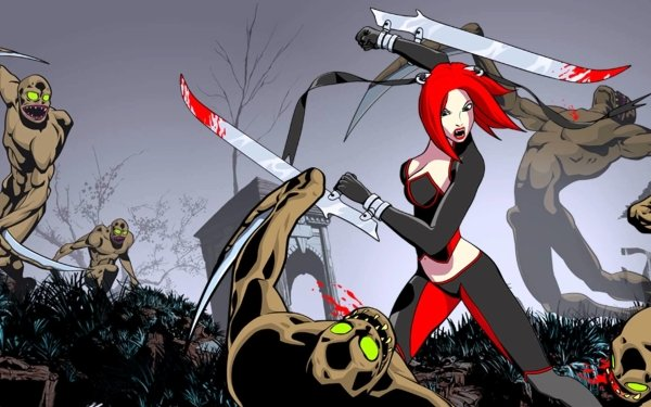 Video Game BloodRayne: Betrayal BloodRayne HD Wallpaper | Background Image