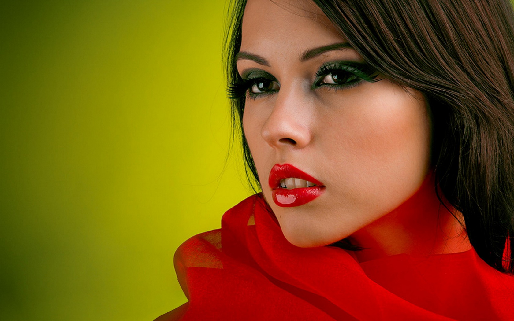 Brunette wallpaper and background image 1680x1050 id 449200 - Beautiful model wallpaper ...