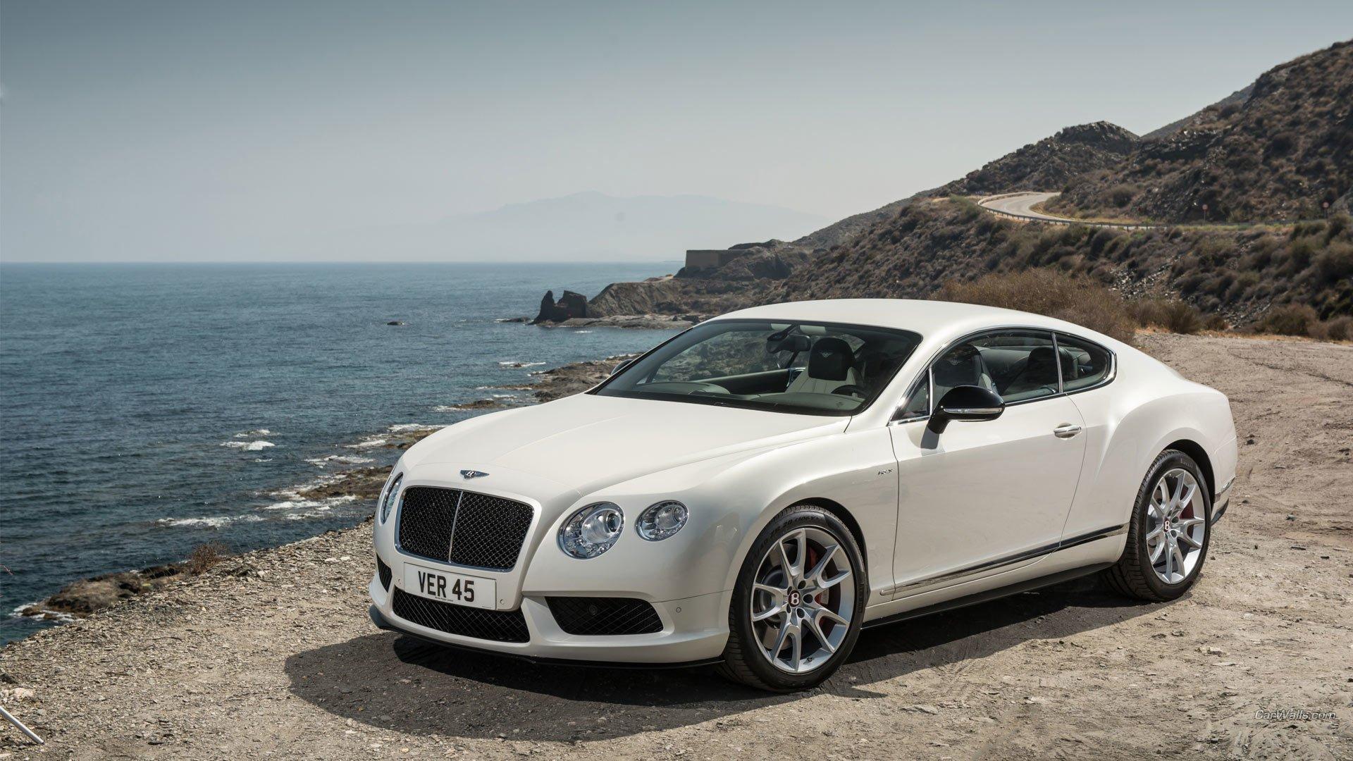 Bentley Continental GT V8 HD Wallpaper