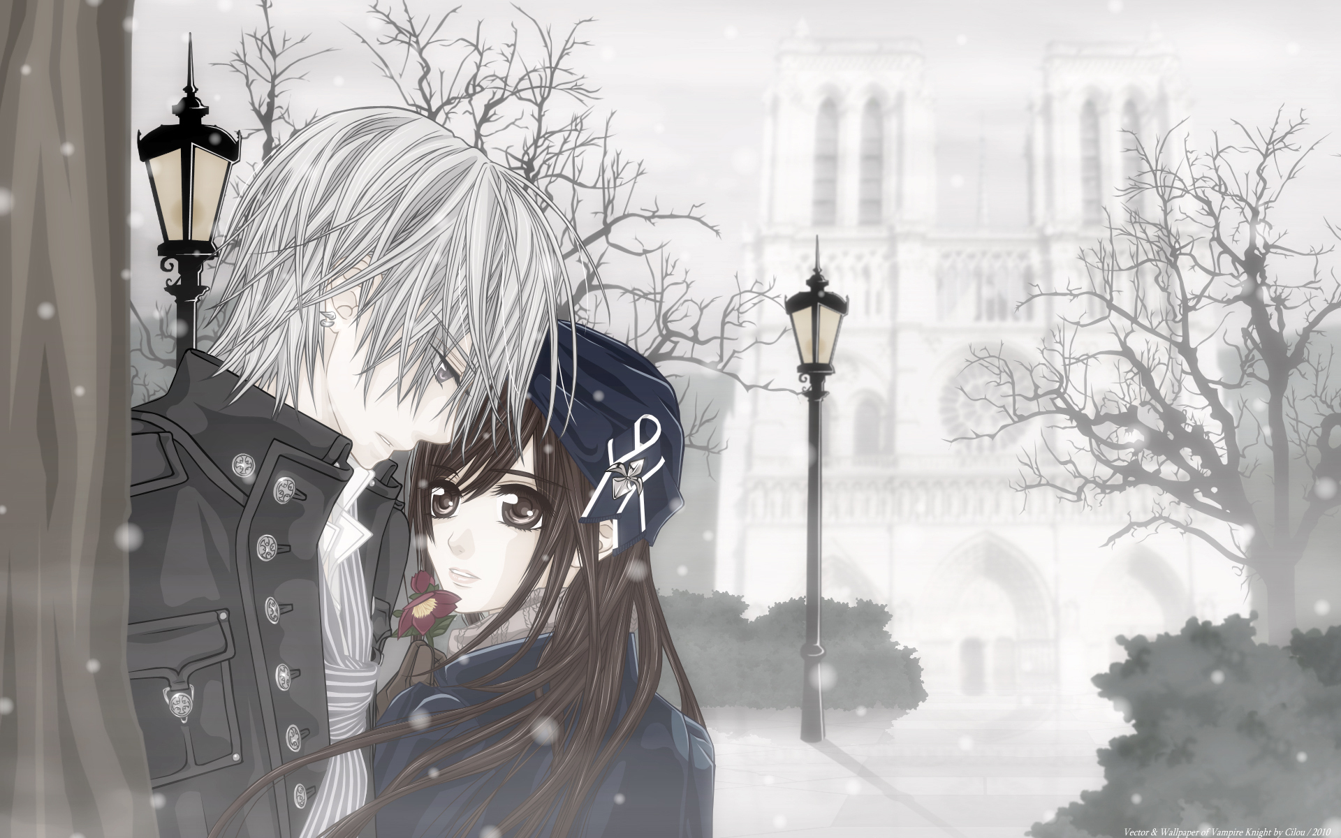 Vampire knight hd wallpaper background image 1920x1200 - Vampire knight anime wallpaper ...