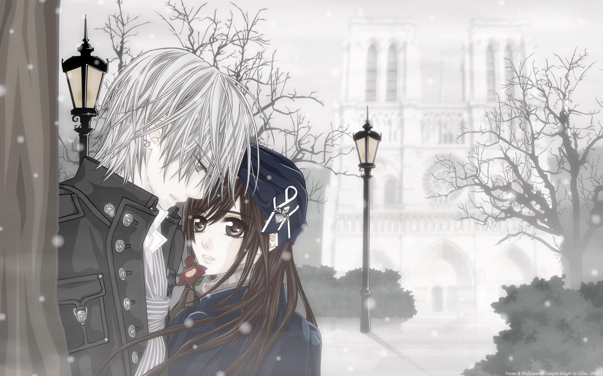Vampire knight full hd wallpaper and background image - Wallpaper vampire anime ...