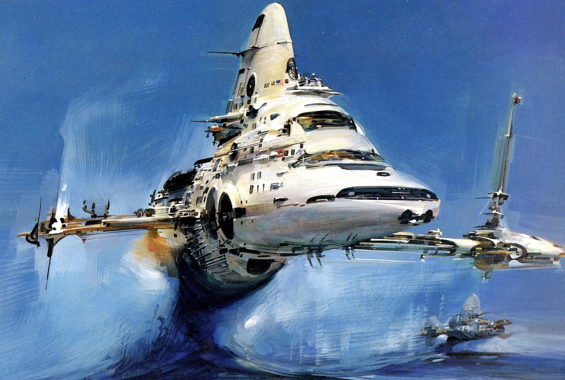 Spaceship 4k Ultra HD Wallpaper