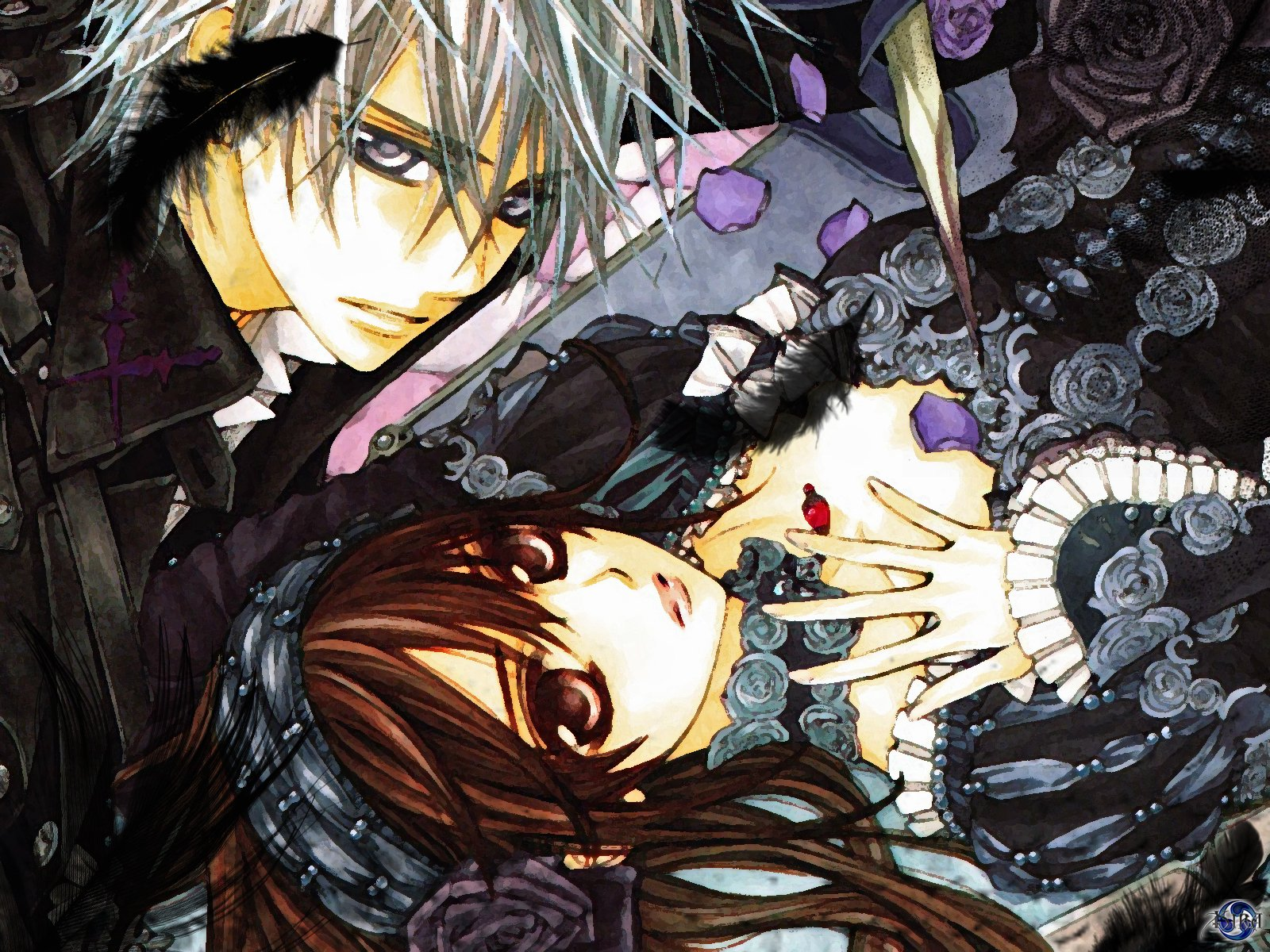 Vampire knight wallpaper and background image 1600x1200 - Vampire knight anime wallpaper ...