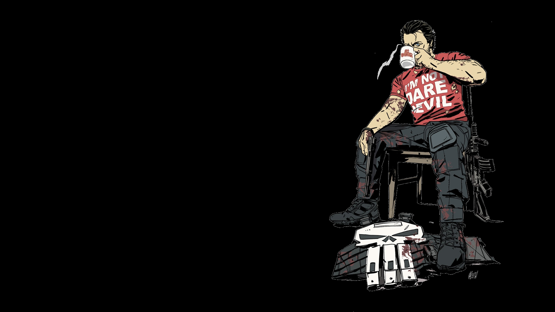 punisher full hd wallpaper and background image