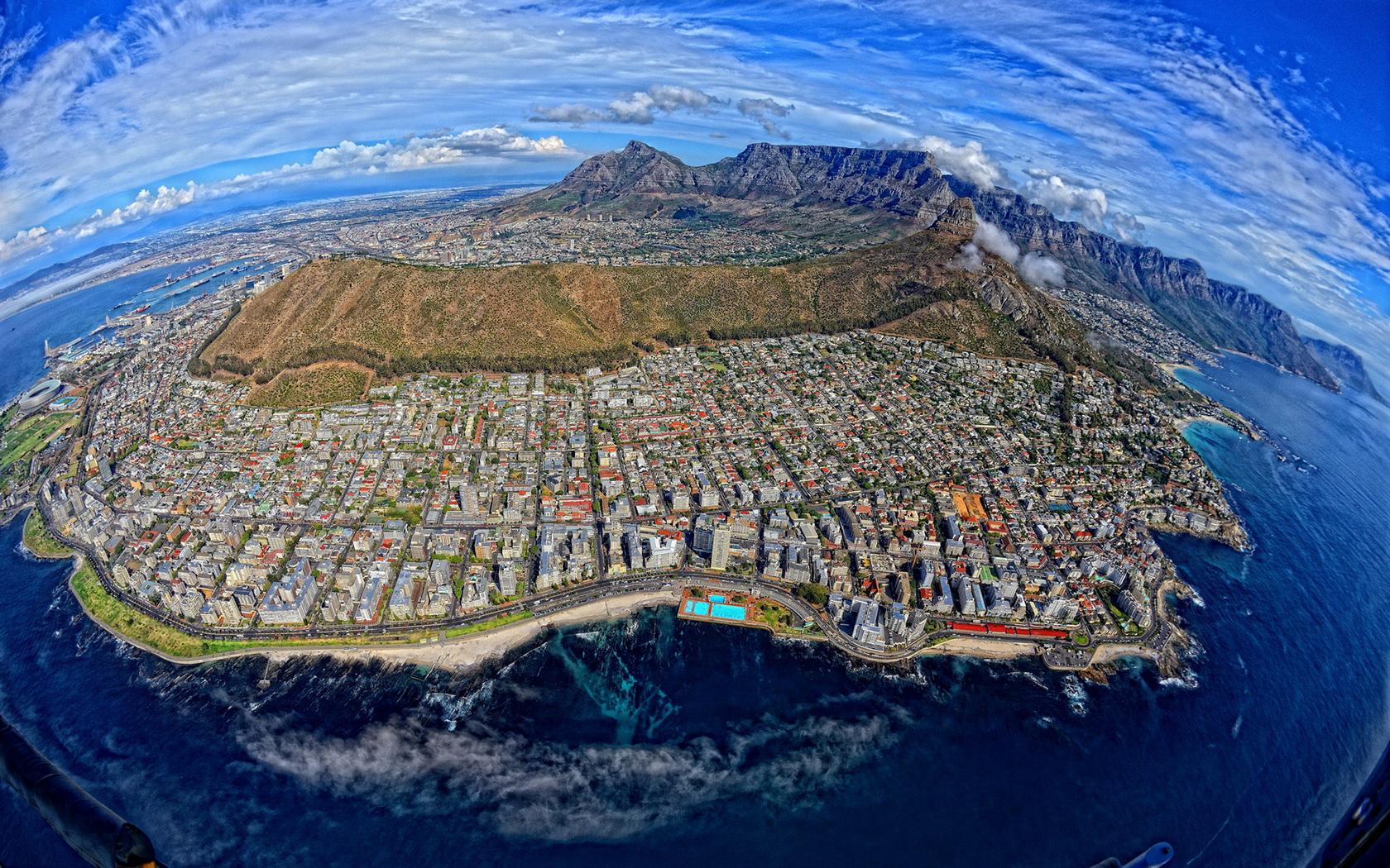 Cape Town Capital Of South Africa Fondo De Pantalla And