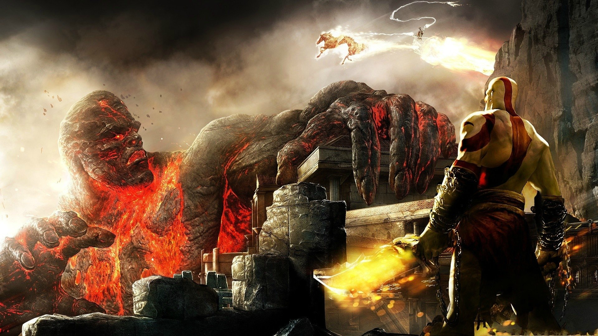 43 God Of War Iii Hd Wallpapers Background Images