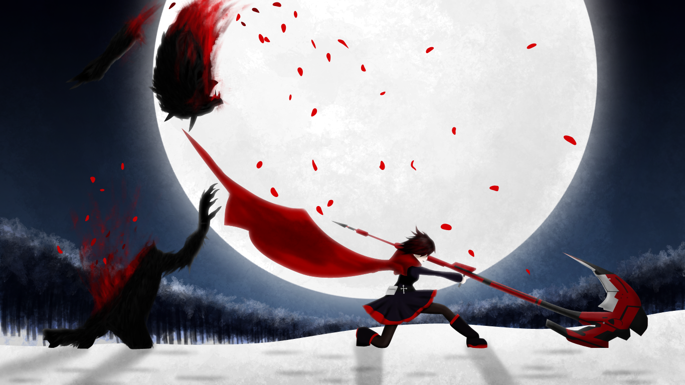 Rwby Wallpaper And Background 1366x768 Id 454904