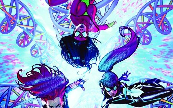 Bande-dessinées Avengers Assemble Spider-Woman Veuve Noire Arachne Fond d'écran HD | Image