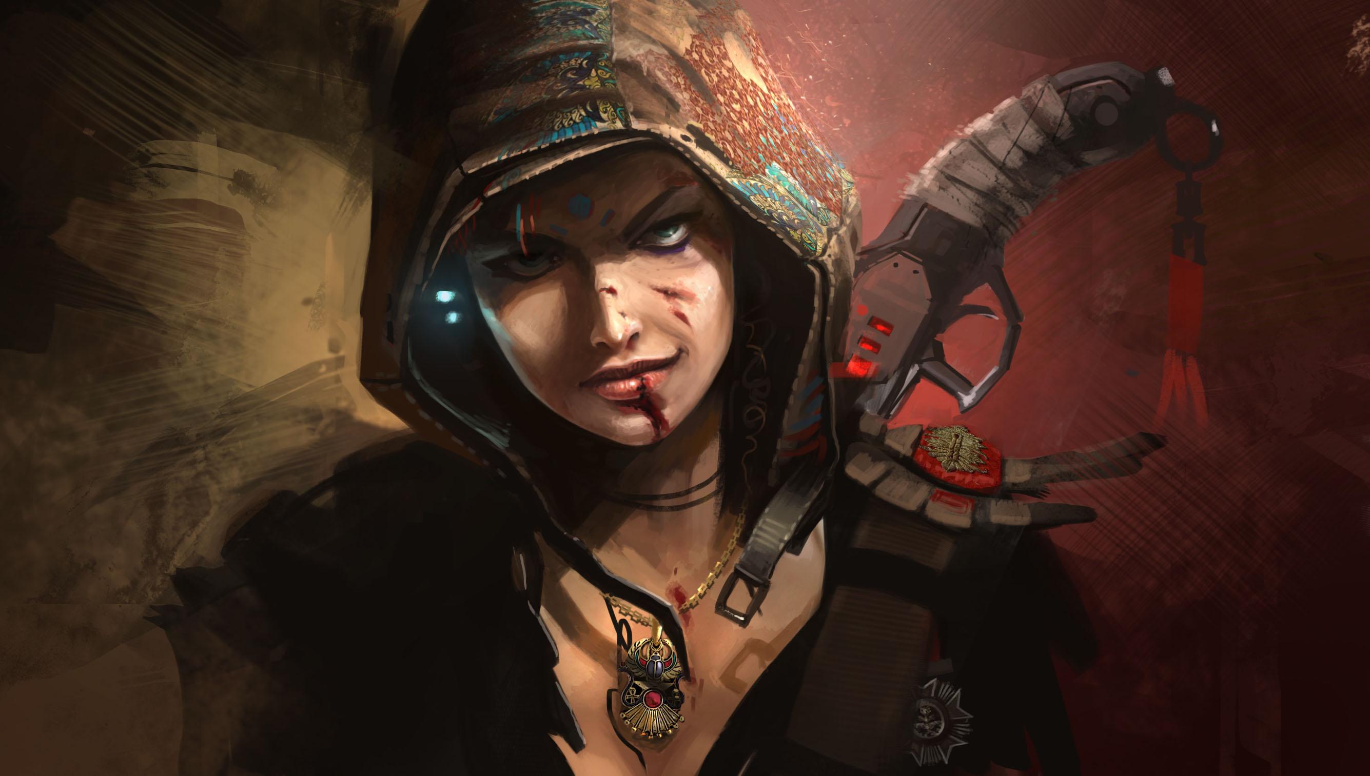 download wallpaper female warrior - photo #44