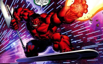 Comics - Red Hulk Wallpapers and Backgrounds ID : 455775
