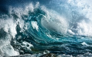 Earth - Wave Wallpapers and Backgrounds ID : 457524