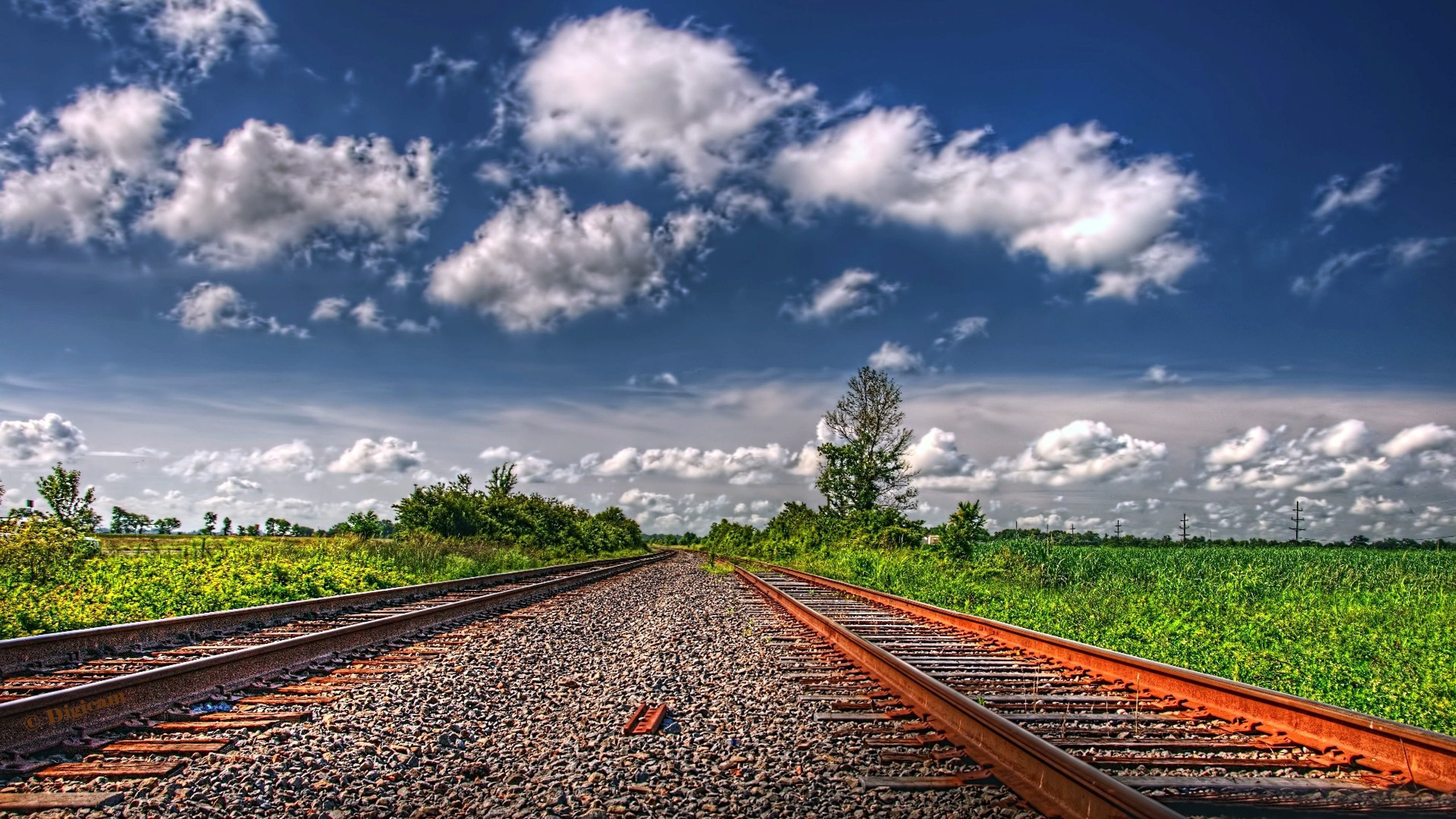 Landscape railway Computer Wallpapers, Desktop Backgrounds ...