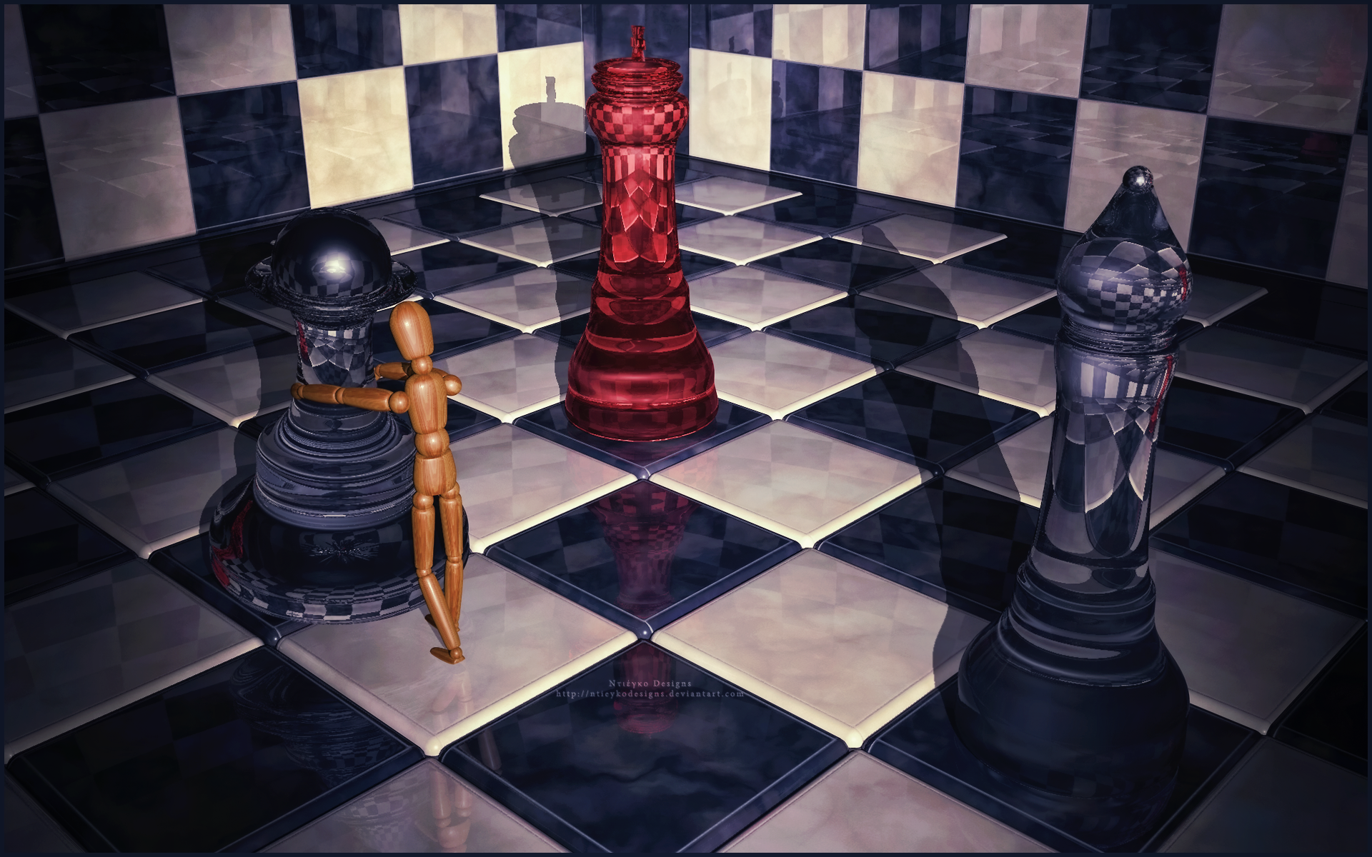 Chess Wallpaper Chess Game Hd Wallpapers: Chess HD Wallpaper