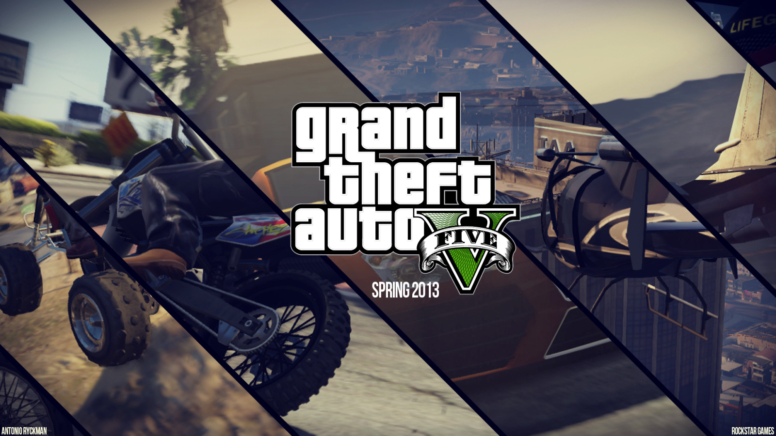 Grand theft auto v wallpaper and background 1600x900 for Gta v bedroom wallpaper
