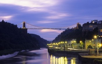 Man Made - Clifton Suspension Bridge Wallpapers and Backgrounds ID : 460078